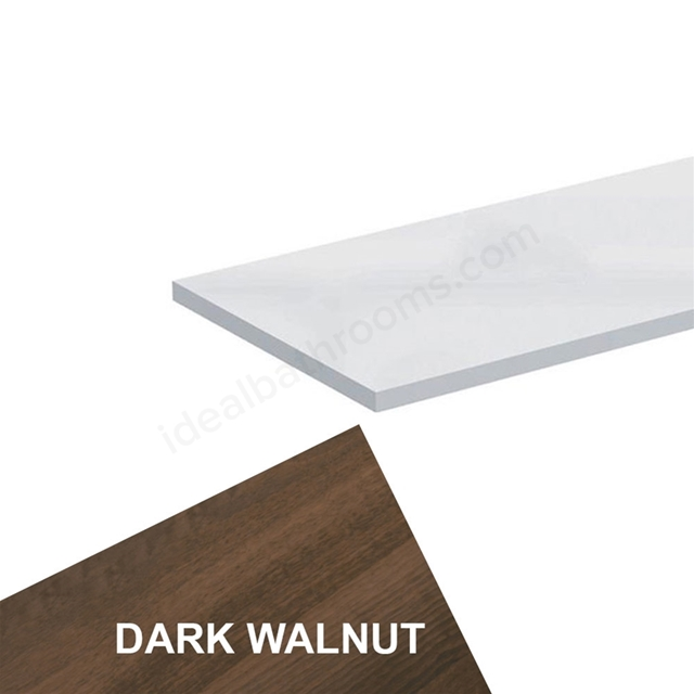 Ideal Standard CONCEPT Worktop, 600x300mm, Walnut