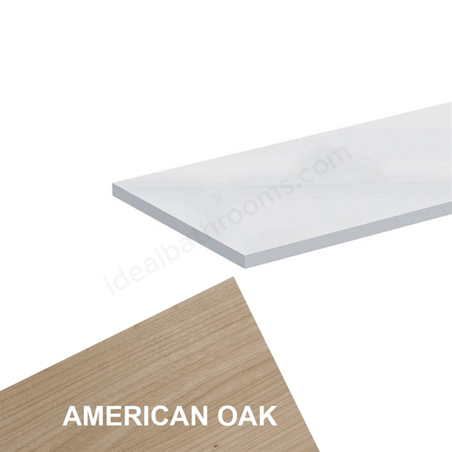 Ideal Standard CONCEPT Worktop, 1800x210mm, American Oak