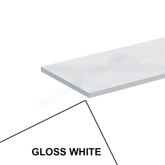 Ideal Standard CONCEPT Worktop, 600x210mm, Gloss White