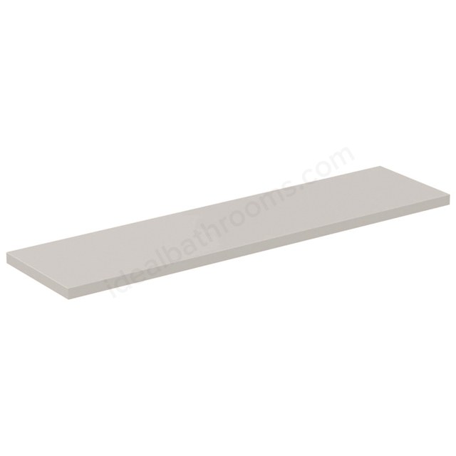 Ideal Standard CONCEPT AIR Worktop for WC Unit, 1200mm Wide, Gloss White / Matt White