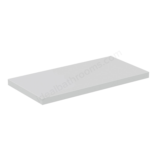Ideal Standard CONCEPT AIR Worktop, 600mm Wide, Gloss White / Matt White