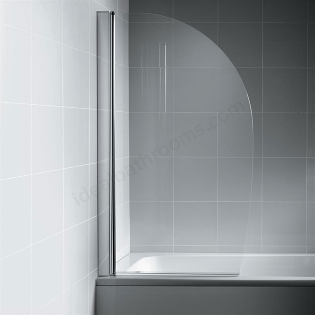 Ideal Standard SYNERGY Sail Bath Screen; Bright Silver