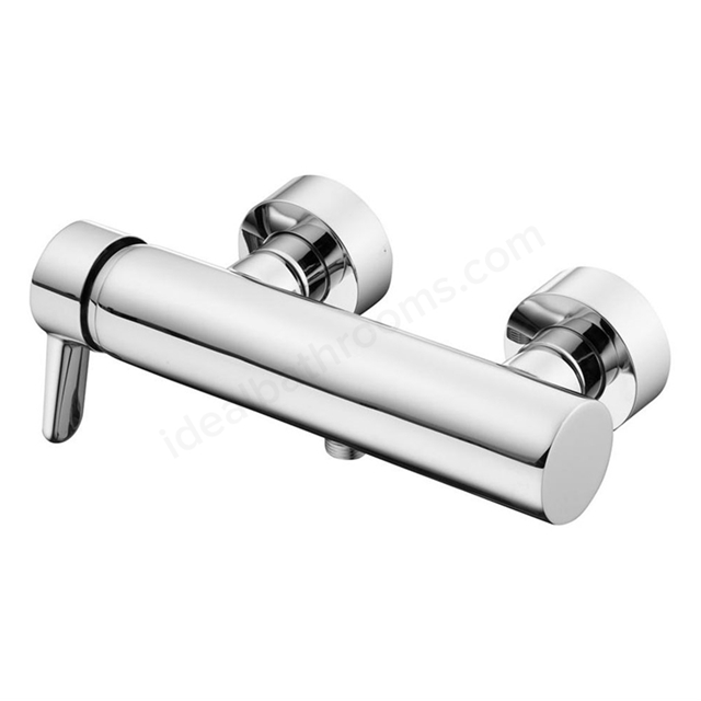Ideal Standard CONCEPT Blue Shower Mixer 2 Hole Wall Mounted Single Lever; Chrome