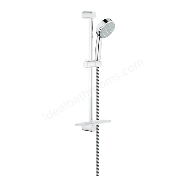 grohe new tempesta cosmopolitan 100 shower rail set 4. Black Bedroom Furniture Sets. Home Design Ideas