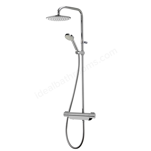 Aqualisa MIDAS 220 Complete Shower, Exposed Bar Valve + Adjustable ...