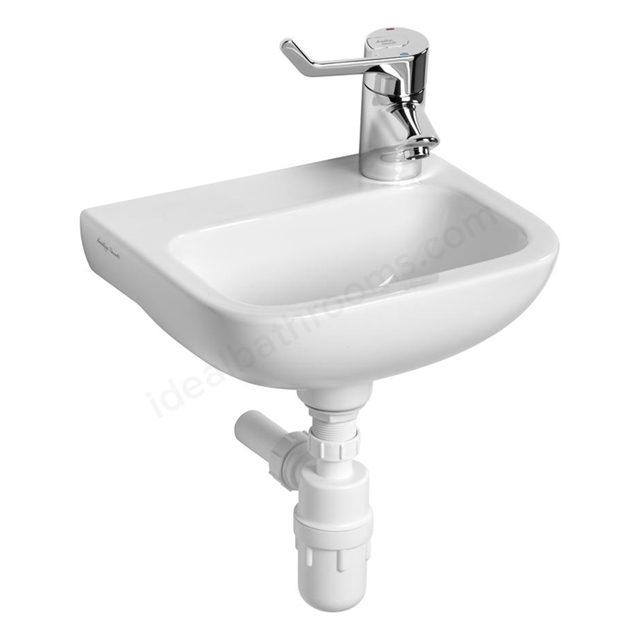 Armitage Shanks CONTOUR 21 Handrinse Basin; Right Handed 1 Tap Hole; 370mm Wide; White
