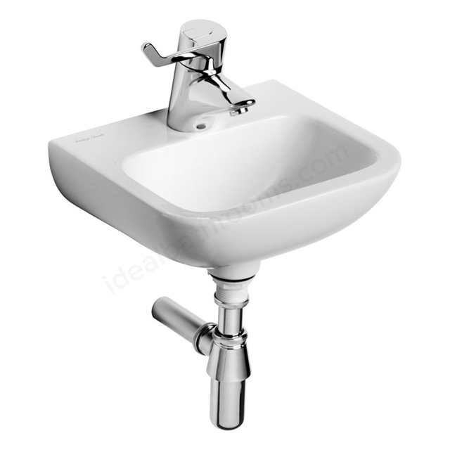 Armitage Shanks CONTOUR 21 Handrinse Basin; Center 1 Tap Hole; 370mm Wide; White