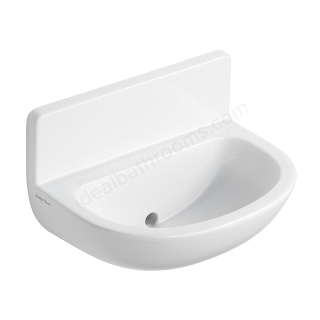 Armitage Shanks CONTOUR 21 Upstand Basin with Back Outlet; 0 Tap Hole; 500mm Wide; White