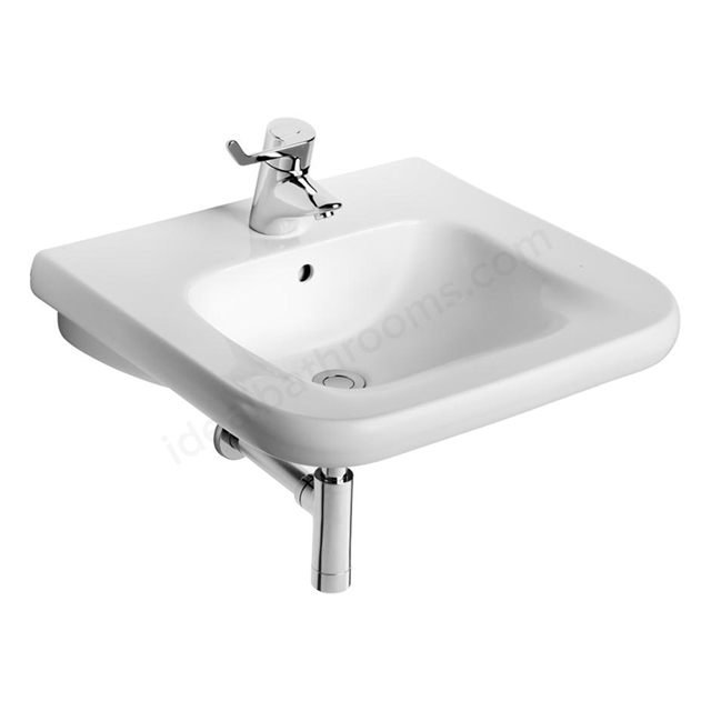 Armitage Shanks CONTOUR 21 Accessible Basin with Overflow and Chain Hole; 1 Tap Hole; 550mm Wide; White
