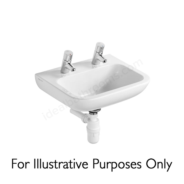 Armitage Shanks Portman 21 500mm Vanity Basin 2 Tap Holes