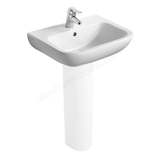 Armitage Shanks Portman 21 550mm Vanity Basin 1 Tap Hole