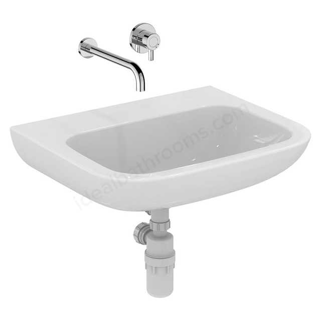 Armitage Shanks Portman 21 600mm Wall Hung Basin 0 Tap Holes