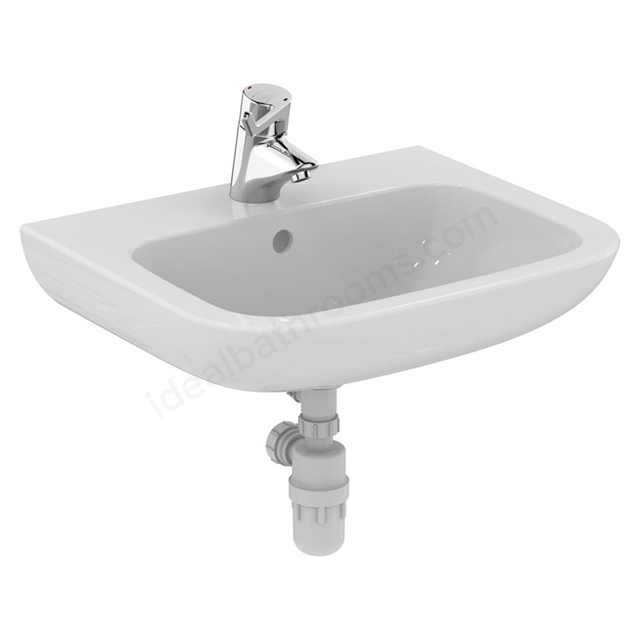 Armitage Shanks Portman 21 600mm Vanity Basin 1 Tap Hole