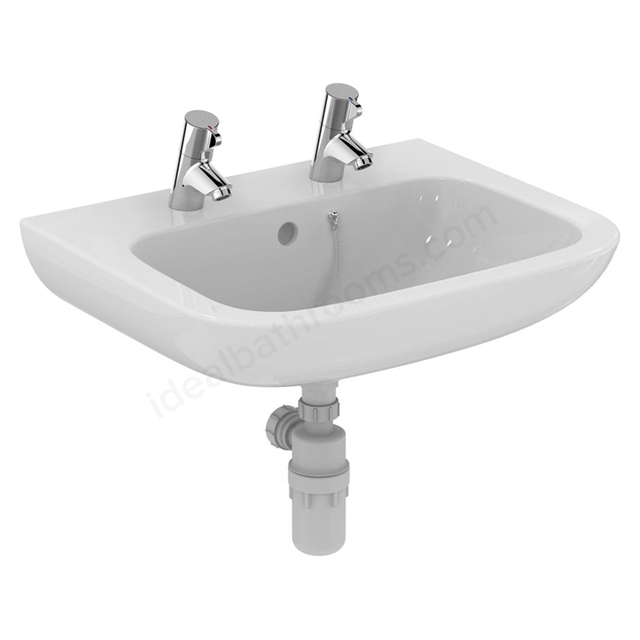 Armitage Shanks Portman 21 600mm Vanity Basin 2 Tap Holes
