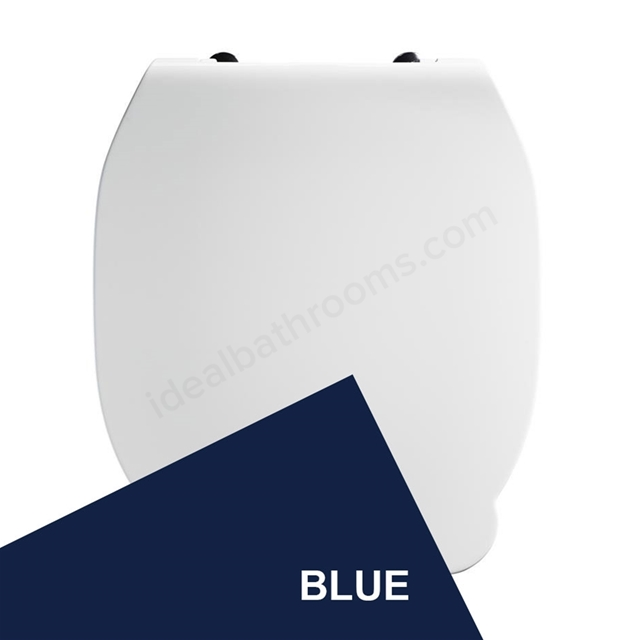 Armitage Shanks CONTOUR 21 Toilet Seat and Cover; for 355mm Toilet Pans; Blue