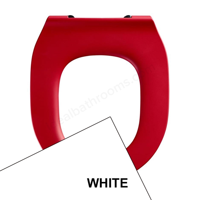 Armitage Shanks CONTOUR 21 Toilet Seat Ring Only; for 355mm Bowls; White
