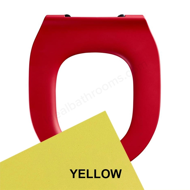 Armitage Shanks CONTOUR 21 Toilet Seat Ring Only; for 355mm Bowls; Yellow