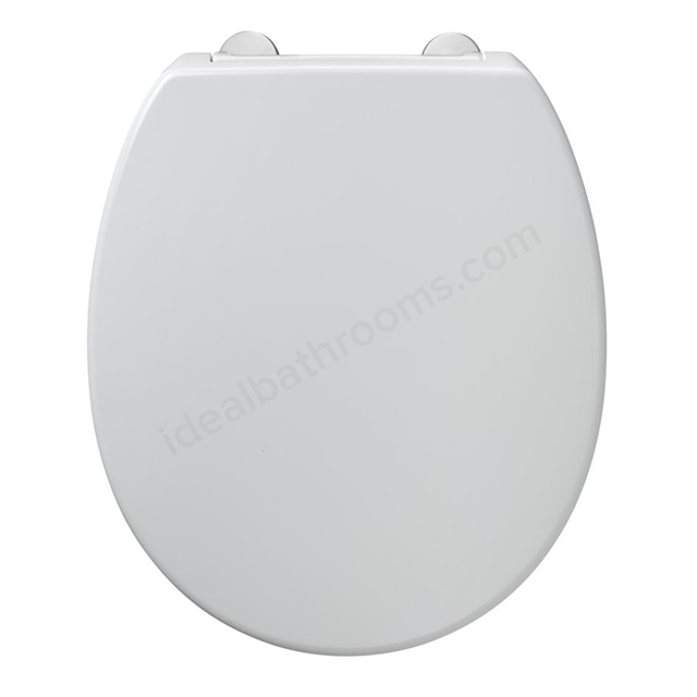 Armitage Shanks CONTOUR 21 Standard Toilet Seat and Cover; Top Fix Hinges; White