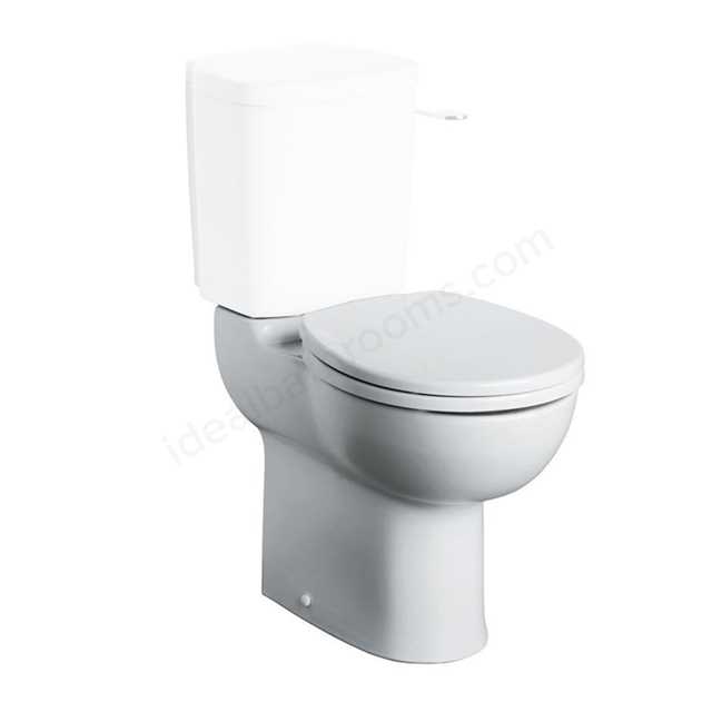 Armitage Shanks CONTOUR 21 Close Coupled Toilet Pan; 750mm projection; 460mm High ; White