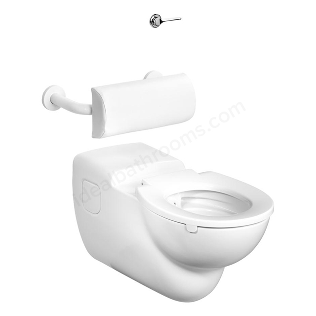 Armitage Shanks CONTOUR 21 Rimless Wall Hung Toilet Pan;750mm projection (requires S430267); White