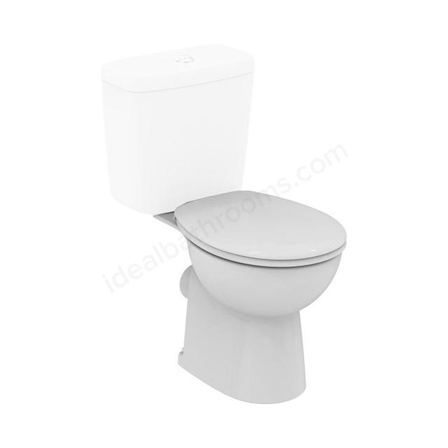 Armitage Shanks Sandringham 21 Smooth Close Coupled Toilet
