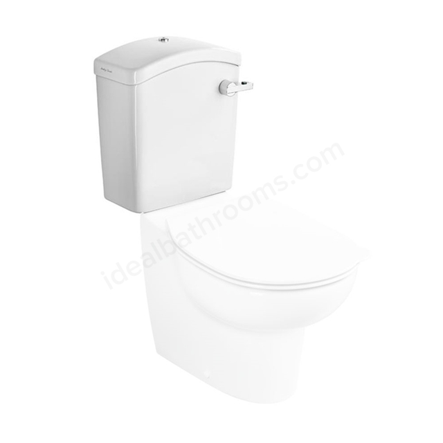 Armitage Shanks CONTOUR 21 SPLASH SCHOOLS Close Coupled Cistern For 305 / 355 Bowls 4/2.6; 6/4 Litre - Dual Flush Lever; White