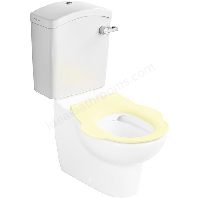 Armitage Shanks CONTOUR 21 SPLASH SCHOOLS Close Coupled Cistern For 305 / 355 Bowls; 4/2.6; 6/4 Litre - Dual Push Button; White