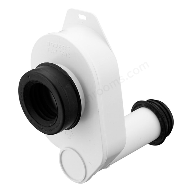 Ideal Standard 1.25 Inch x 75mm Seal Plastic Syphon & 40mm outlet, White