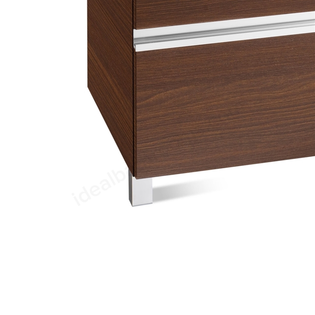 Roca VICTORIA-N Optional Legs for 3 Drawer Units (Pair); 110mm High; Chrome
