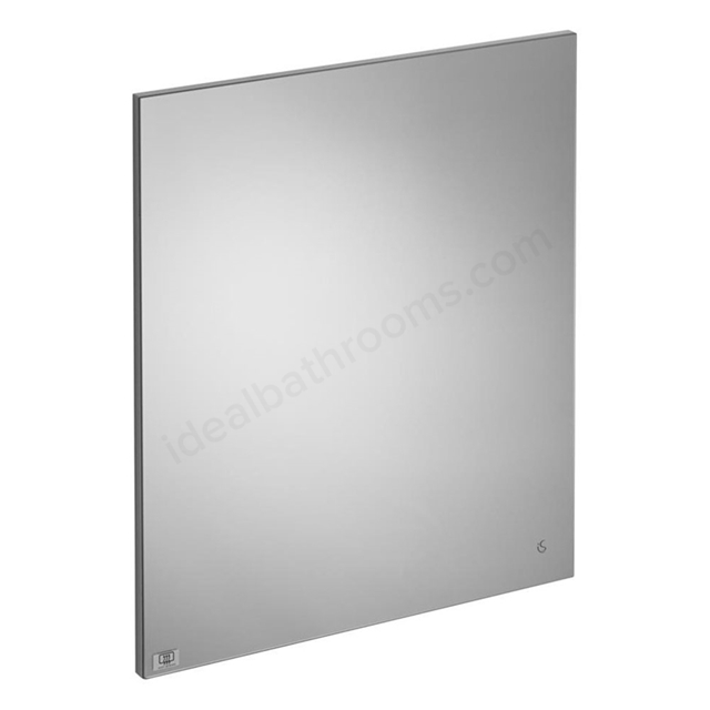 Ideal Standard CONCEPT Bathroom Mirror with Anti Steam System; 600x700mm