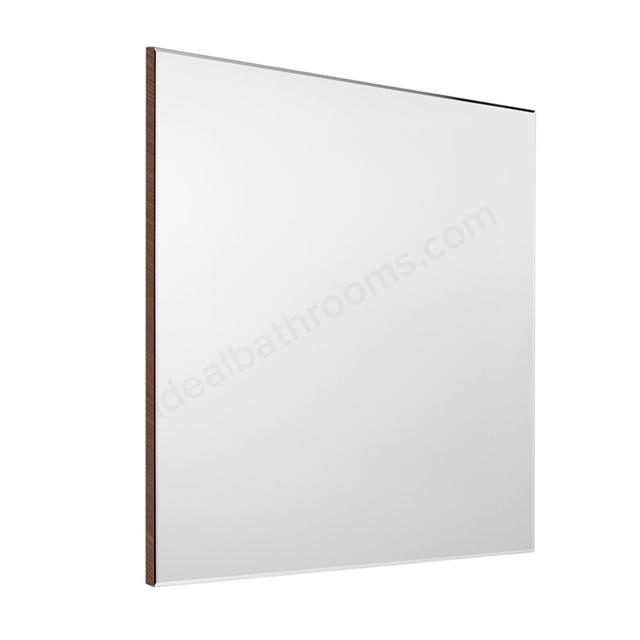 Roca VICTORIA-N Bathroom Mirror; Rectangular; 700x700mm; Textured Wenge