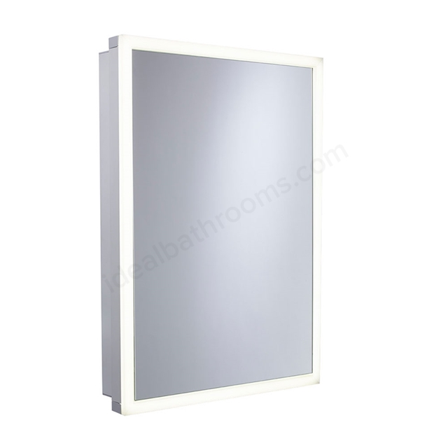 Bathroom Cabinets 500mm Wide tavistock nook single door bathroom cabinet, 500mm wide, aluminium