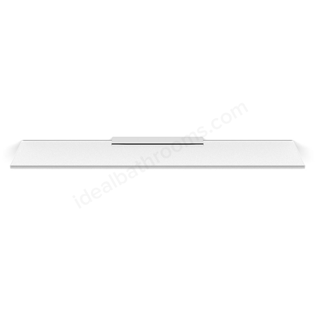 Essential URBAN Glass Shelf Without Rail, 450mm Wide