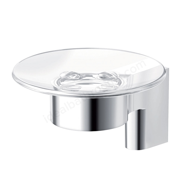 Ideal Standard CONCEPT Glass Soap Dish, Chrome
