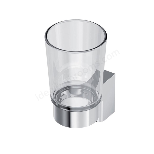 Ideal Standard CONCEPT Glass Tumbler, Chrome