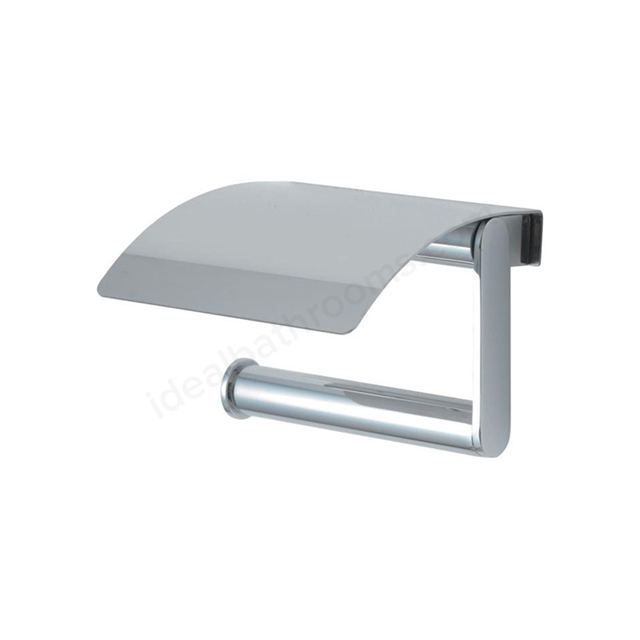Ideal Standard CONCEPT Toilet Roll Holder & Cover; Chrome