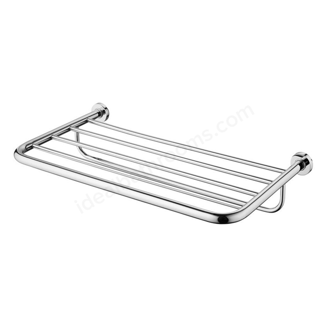 Ideal Standard IOM Bath Towel Rack; Chrome