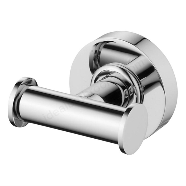 Ideal Standard IOM Double Robe Hook; Chrome