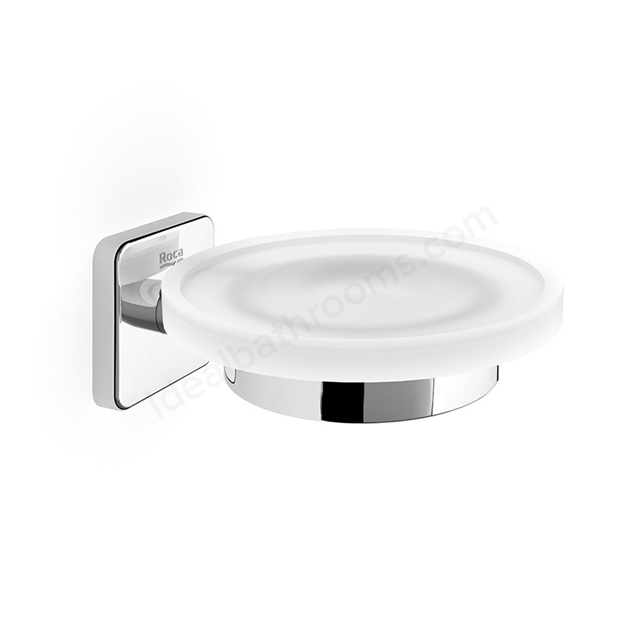 Roca VICTORIA Wall Hung Soap Dish; Chrome