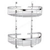 Vitra ARKITEKT Wire Shower Basket; 2 Tier; Chrome