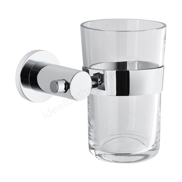 Vitra LLIA Toothbrush Holder; Chrome