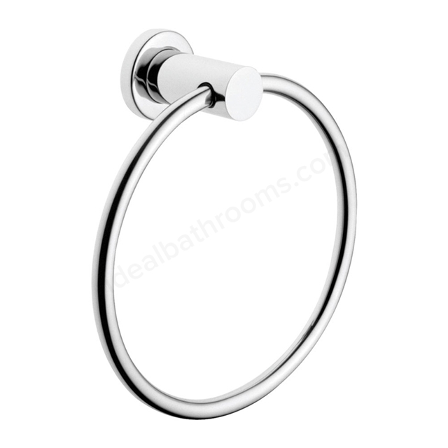 Vitra LLIA Towel Ring; Chrome