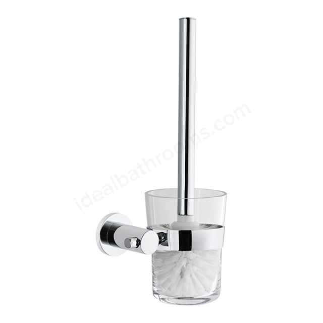 Vitra LLIA Toilet Brush Holder; Chrome
