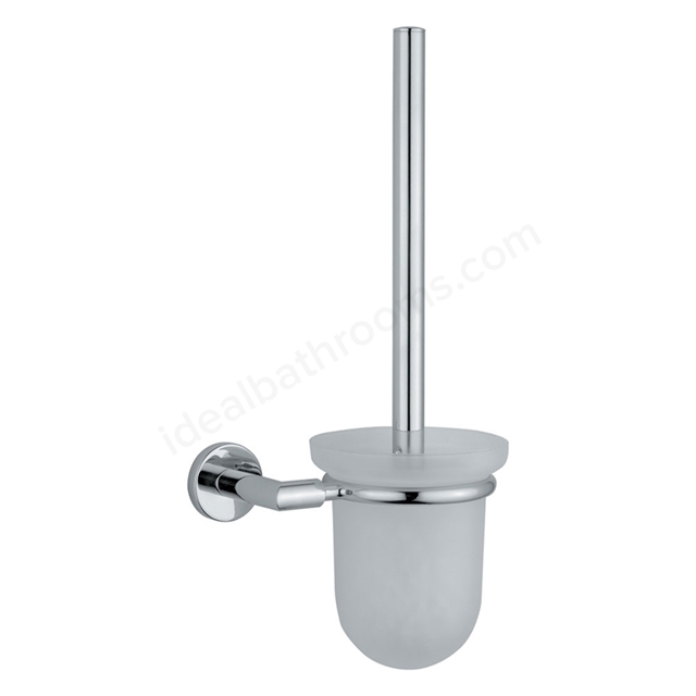 Vitra MINIMAX Toilet Brush Holder; Chrome
