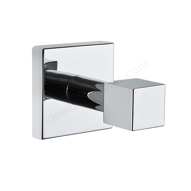 Vitra Q-LINE Bath Robe Holder Single; Chrome