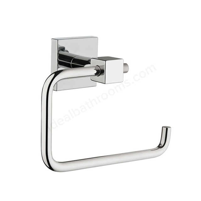 Vitra Q-LINE Toilet Roll Holder Single; Chrome