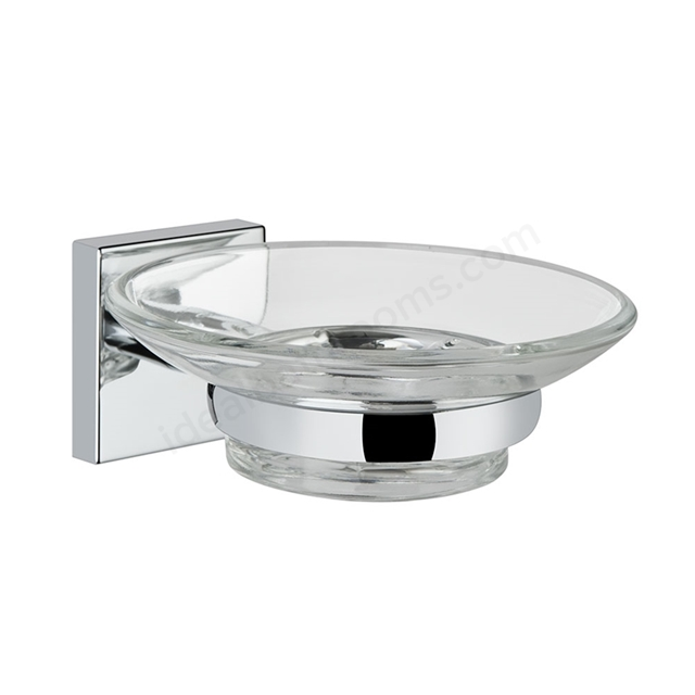 Vitra Q-LINE Soap Dish; Chrome