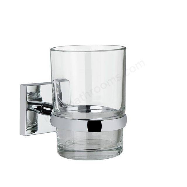 Vitra Q-LINE Toothbrush Holder; Chrome