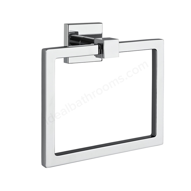 Vitra Q-LINE Towel Ring; Chrome