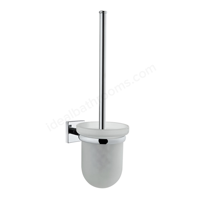 Vitra Q-LINE Toilet Brush Holder; Chrome